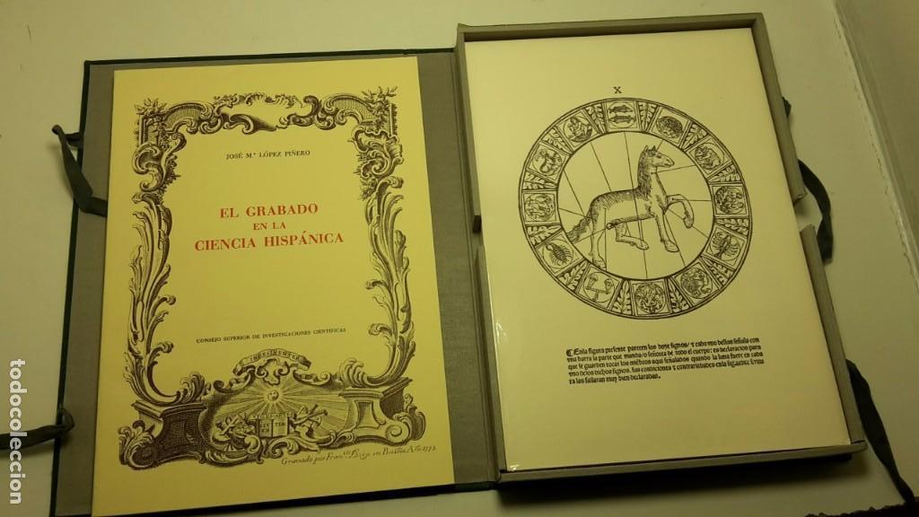 EL GRABADO EN LA CIENCIA HISPÁNICA, J.M. LÓPEZ PIÑERO, SIN ABRIR. (Libros Antiguos, Raros y Curiosos - Bellas artes, ocio y coleccionismo - Otros)