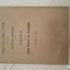 Libros antiguos: FERROCARRIL DE VALLS Á VILLANUEVA Y BARCELONA. 31 MARZO DE 1880.. Lote 104320119