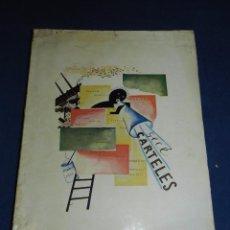Libros antiguos: (MF) GECE - CARTELES ( GIMENEZ CABALLERO ) EDT ESPASA-CALPE MADRID 1927 , 1 EDC VANGUARDIAS. Lote 104346859