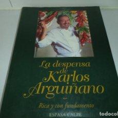 Libros antiguos: LIBRO DE COCINA.LA DESPENSA DE KARLOS ARGUIÑANO. Lote 104346959