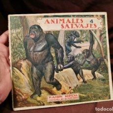 Libros antiguos: BIBLIOTECA PARA NIÑOS. ANIMALES SALVAJES Nº 4. RAMON SOPENA BARCELONA. Lote 104388903