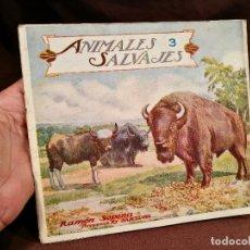 Libros antiguos: BIBLIOTECA PARA NIÑOS. ANIMALES SALVAJES Nº 3. RAMON SOPENA BARCELONA. Lote 104389003
