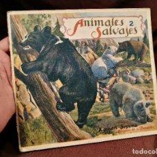 Libros antiguos: BIBLIOTECA PARA NIÑOS. ANIMALES SALVAJES Nº 2. RAMON SOPENA BARCELONA. Lote 104389103