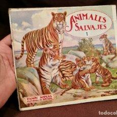Libros antiguos: BIBLIOTECA PARA NIÑOS. ANIMALES SALVAJES Nº 1. RAMON SOPENA BARCELONA. Lote 104389215