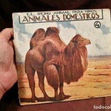 Libros antiguos: BIBLIOTECA PARA NIÑOS. EL REINO ANIMAL -ANIMALES DOMESTICOS Nº 4. RAMON SOPENA BARCELONA. Lote 104389359