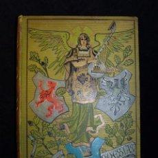 Libros antiguos: TRES POESIAS. BIBLIOTECA -ARTE Y LETRAS- EDITORIAL DOMENECH. BARCELONA, 1883. MARAVILLOSAS ILUSTRACI. Lote 104426803