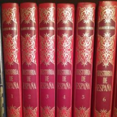 Libros antiguos: HISTORIA DE ESPAÑA EN 6 TOMOS.. Lote 104427771