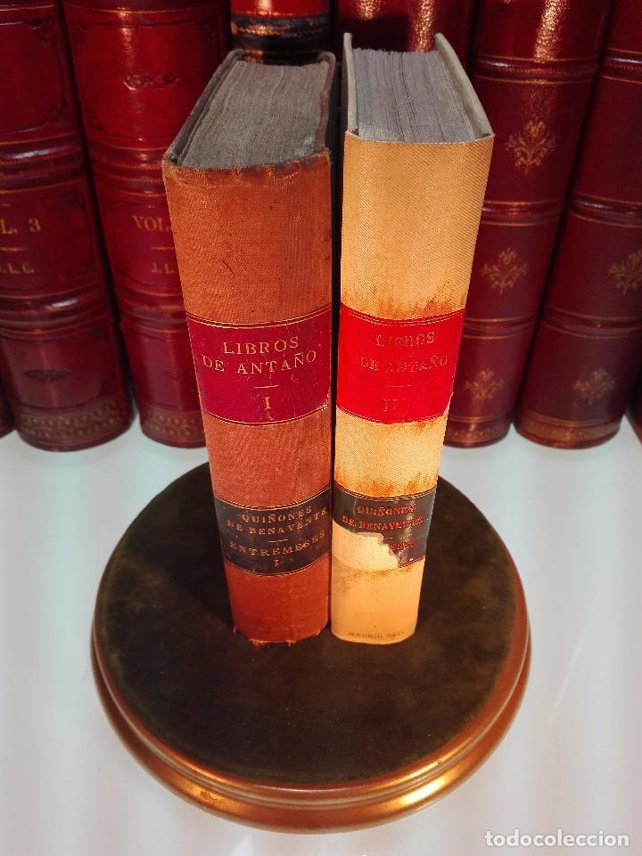 LIBROS DE ANTAÑO - COLECCIÓN DE PIEZAS DRAMÁTICAS - ENTREMESES - LOAS Y JÁCARAS - LUIS DE QUIÑONES D (Libros antiguos (hasta 1936), raros y curiosos - Literatura - Narrativa - Otros)