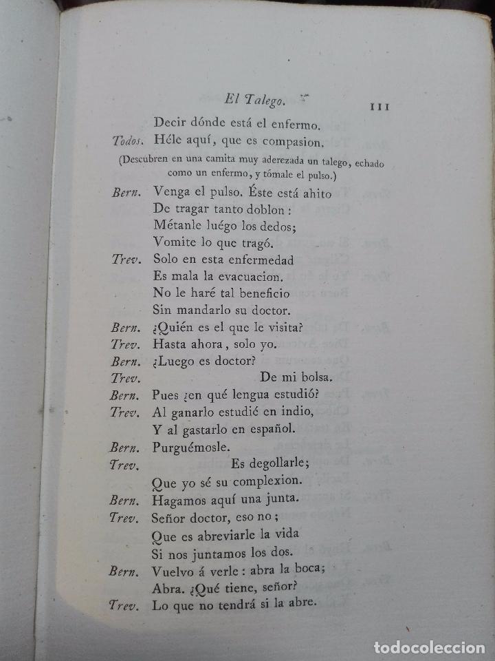 Libros antiguos: LIBROS DE ANTAÑO - COLECCIÓN DE PIEZAS DRAMÁTICAS - ENTREMESES - LOAS Y JÁCARAS - LUIS DE QUIÑONES D - Foto 6 - 104438975