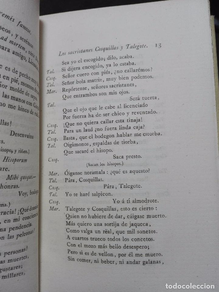 Libros antiguos: LIBROS DE ANTAÑO - COLECCIÓN DE PIEZAS DRAMÁTICAS - ENTREMESES - LOAS Y JÁCARAS - LUIS DE QUIÑONES D - Foto 11 - 104438975