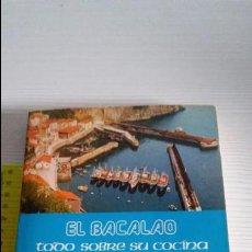 Libros antiguos: EL BACALAO. Lote 104469207