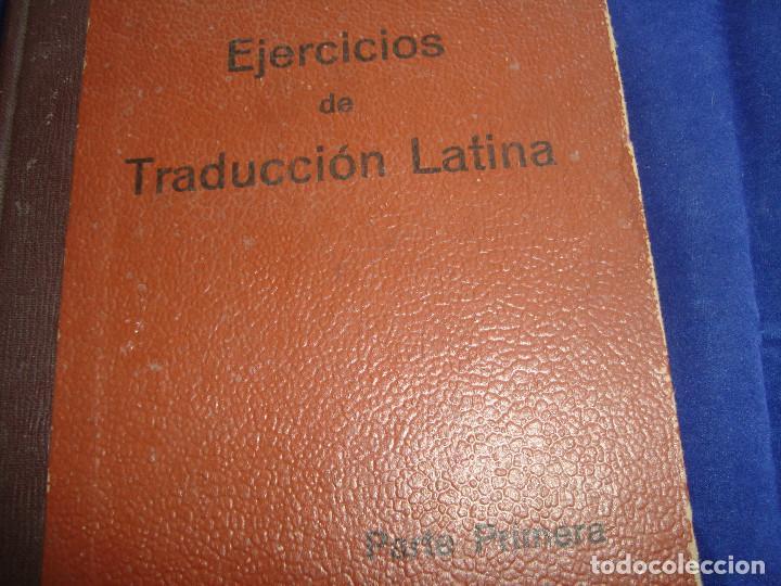 Libros antiguos: EJERCICIOS DE TRADUCCIÓN LATIANA PRIMERA PARTE POR ENRIQUE BARRIGÓN GONZÁLEZ 1932 - Foto 2 - 104528871