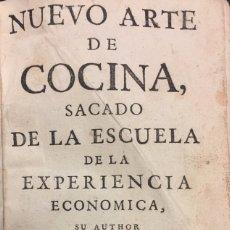 Libros antiguos: JUAN ALTAMIRAS . NUEVO ARTE DE COCINA, SACADO DE LA ESCUELA DE LA EXPERIENCIA ECONÓMICA. Lote 76287525