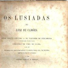 Libros antiguos: OS LUISIADAS DE LUIZ DE CAMOES - EDITOR F. A. BROCKHAUS. LEIPZIG - 1875. Lote 104585939