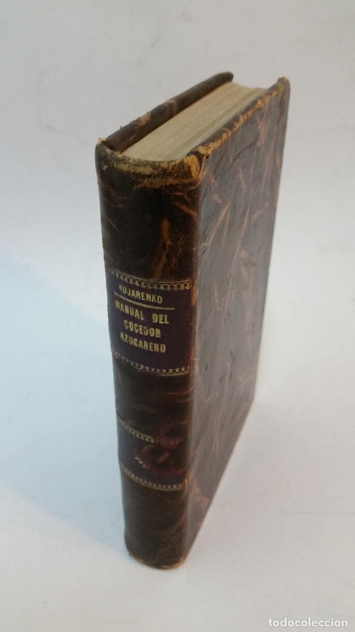 1932 - KUJARENKO - MANUAL DEL COCEDOR AZUCARERO (Libros Antiguos, Raros y Curiosos - Cocina y Gastronomía)