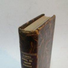Libros antiguos: 1932 - KUJARENKO - MANUAL DEL COCEDOR AZUCARERO. Lote 104592763