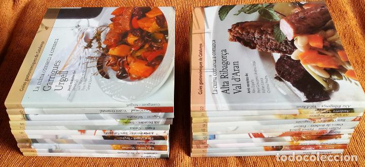 LG 08 - GUÍES GASTRONÓMIQUES CATALUNYA - COMPLETA (22) RECETAS POR COMARCAS - GASTRONOMÍA CATALANA (Libros Antiguos, Raros y Curiosos - Cocina y Gastronomía)
