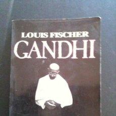 Libros antiguos: GANDHI ,LOUIS FISCHER. Lote 104878787