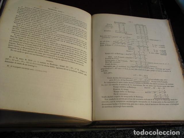Libros antiguos: 1863 COLECCION COMPLETA DE TABLAS PARA USO DE LA NAVEGACION Y ASTRONOMIA NAUTICA MENDOZA - Foto 7 - 105086415