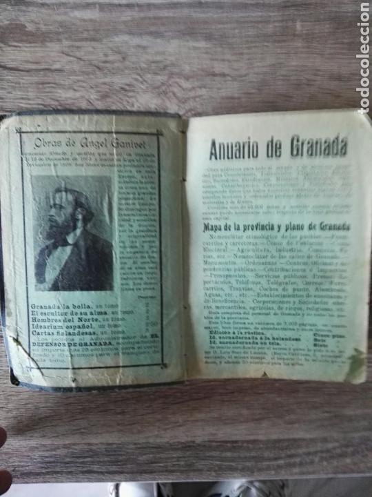 Libros antiguos: guia práctica y artística de Granada 1907 - Foto 3 - 105120332