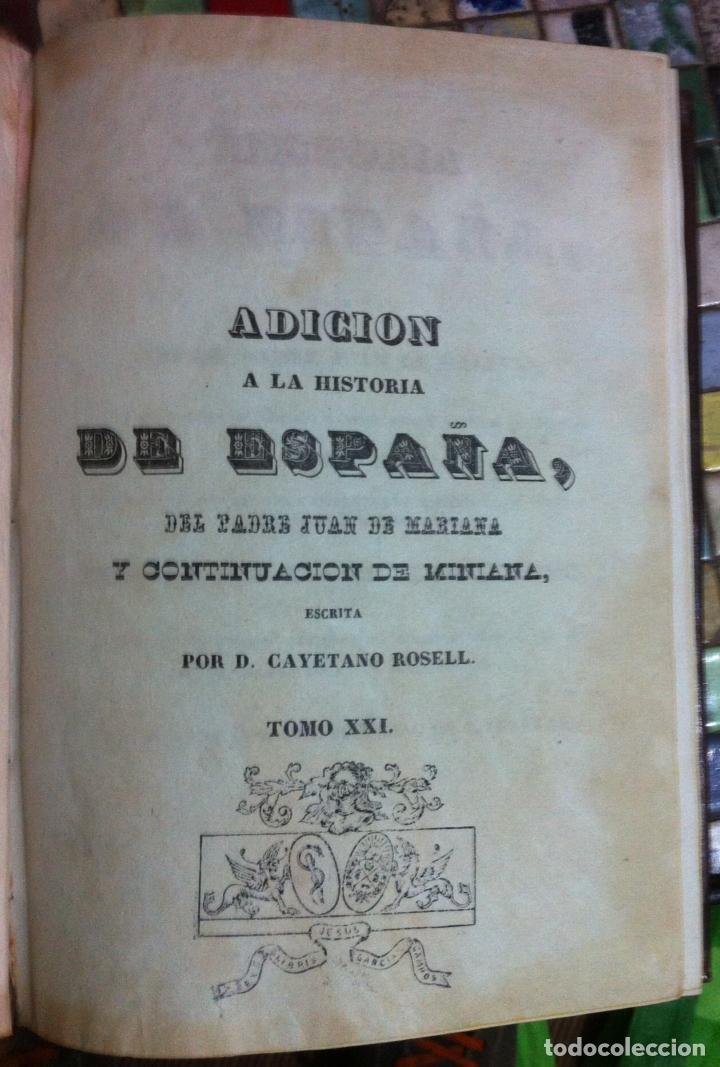 Libros antiguos: Juan de Mariana. Historia de España. 1841 - Foto 8 - 89874324