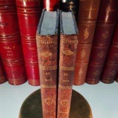 Libros antiguos: EL IRIS - SEMANARIO ENCILOPÉDICO - 2 TOMOS - FEBRERO Y DE JULIO A NOVIEMBRE DE 1841 - MADRID - . Lote 105259099