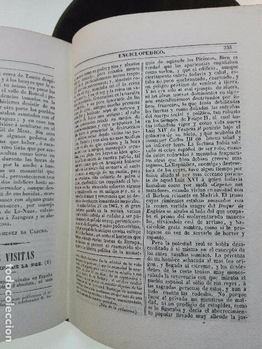 Libros antiguos: EL IRIS - SEMANARIO ENCILOPÉDICO - 2 TOMOS - FEBRERO Y DE JULIO A NOVIEMBRE DE 1841 - MADRID - - Foto 7 - 105259099