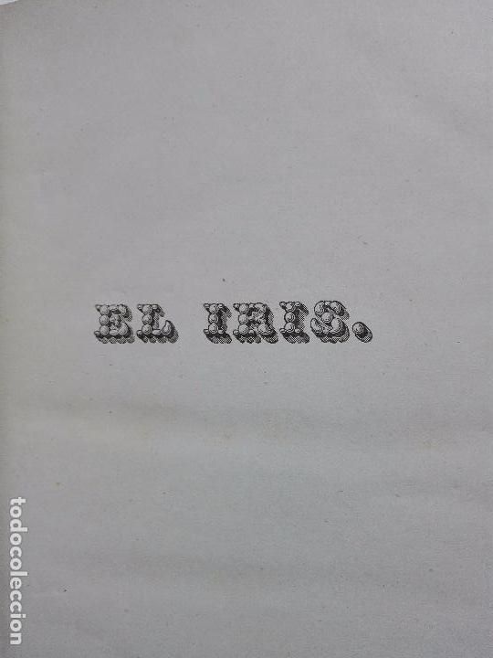 Libros antiguos: EL IRIS - SEMANARIO ENCILOPÉDICO - 2 TOMOS - FEBRERO Y DE JULIO A NOVIEMBRE DE 1841 - MADRID - - Foto 13 - 105259099