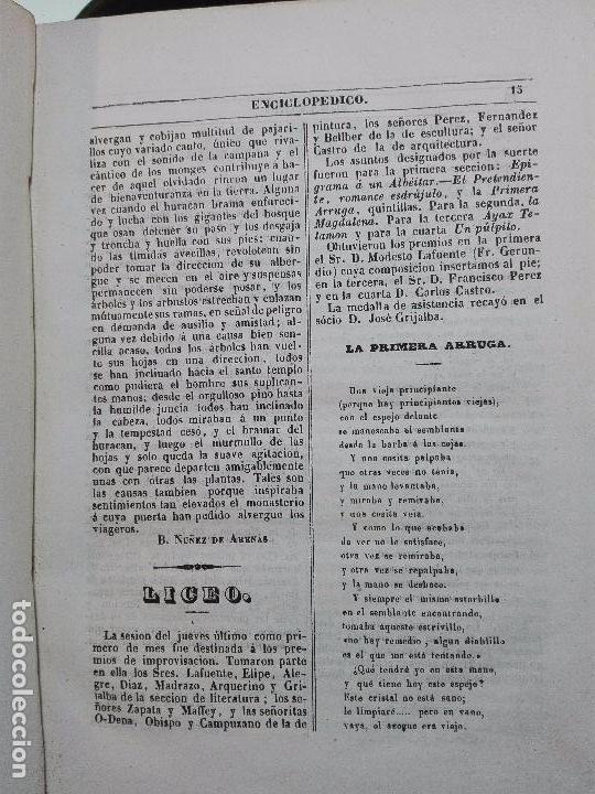 Libros antiguos: EL IRIS - SEMANARIO ENCILOPÉDICO - 2 TOMOS - FEBRERO Y DE JULIO A NOVIEMBRE DE 1841 - MADRID - - Foto 15 - 105259099