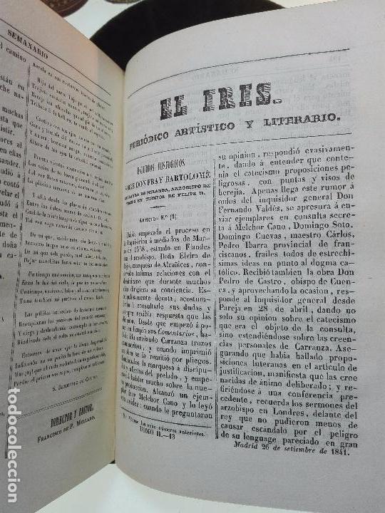 Libros antiguos: EL IRIS - SEMANARIO ENCILOPÉDICO - 2 TOMOS - FEBRERO Y DE JULIO A NOVIEMBRE DE 1841 - MADRID - - Foto 17 - 105259099