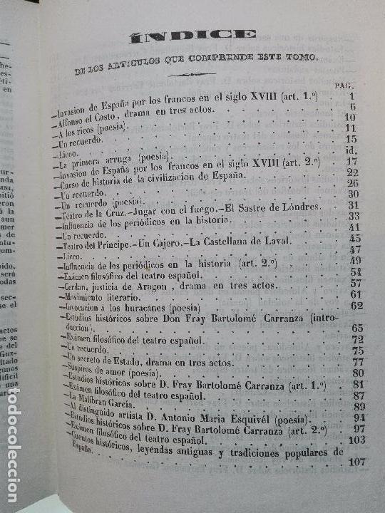 Libros antiguos: EL IRIS - SEMANARIO ENCILOPÉDICO - 2 TOMOS - FEBRERO Y DE JULIO A NOVIEMBRE DE 1841 - MADRID - - Foto 18 - 105259099