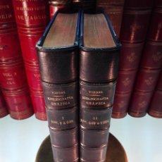 Libros antiguos: ÚNICO A LA VENTA - BIBLIOGRAFÍA GRÁFICA REUNIDA Y PUBLICADA POR PEDRO VINDEL - 2 TOMOS - 1910 - . Lote 105259859