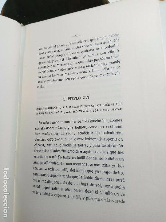 Libros antiguos: ORIGEN Y DIGNIDAD DE LA CAZA - JUAN MATEOS - MADRID - 1927 - INTONSO - SOC. BIBLIÓFILOS ESPAÑOLES - Foto 4 - 105428355