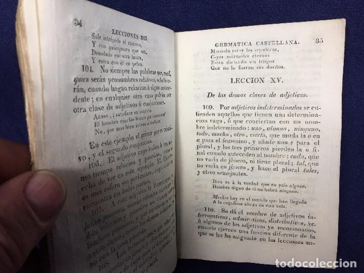 Libros antiguos: coleccion tratados breves metodicos ciencias literatura artes gramatica castellana sevilla 1829 - Foto 5 - 183231956