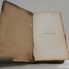 Libros antiguos: THE KEEPSAKE LONDON 1829. Lote 105577087