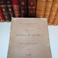 Libros antiguos: GUERRAS CIVILES DEL PERÚ - LA GUERRA DE QUITO - PEDRO DE CIEZA DE LEON - TOMO I - MADRID - 1877. Lote 105587699