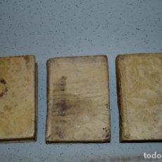 Libros antiguos: APENDICE A LA EDUCACION POPULAR PARTE PRIMERA, SEGUNDA Y TERCERA ENCUADERNADOS. Lote 105629291