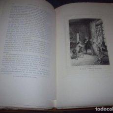 Libros antiguos: THE CONFESSIONS OF JEAN JACQUES ROUSSEAU. VOLUME I. ILUSTRADO CON AGUAFUERTES DE ED. HEDOUIN. 1904.. Lote 105790107