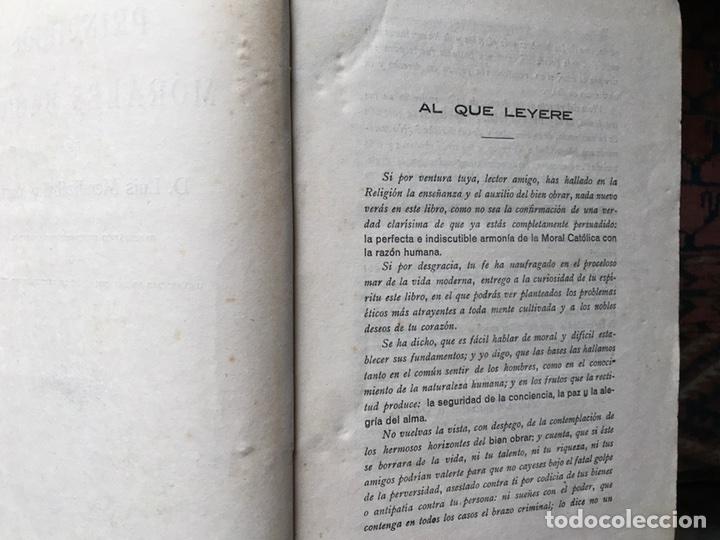Libros antiguos: Principios morales básicos - Foto 2 - 105790191