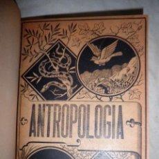 Libros antiguos: ANTROPOLOGIA - AÑO 1892 - F.NACENTE - BELLAS LAMINAS.. Lote 105848583