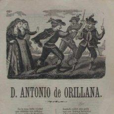 Libros antiguos: DON ANTONIO DE ORILLANA....TOLEDO - AÑO 1869. Lote 105898035