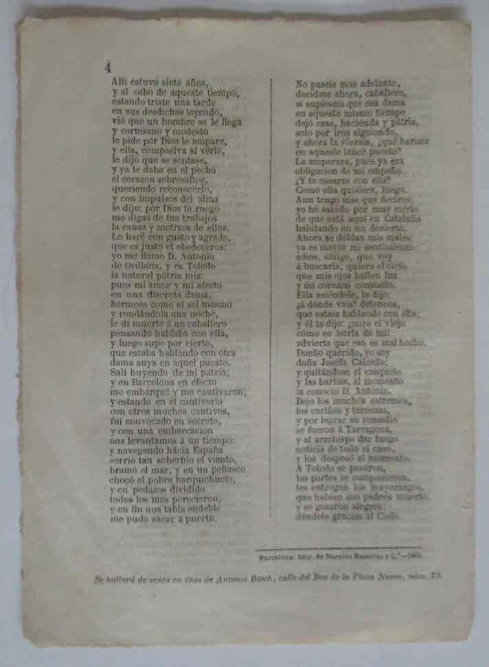 Libros antiguos: DON ANTONIO DE ORILLANA....TOLEDO - AÑO 1869 - Foto 3 - 105898035