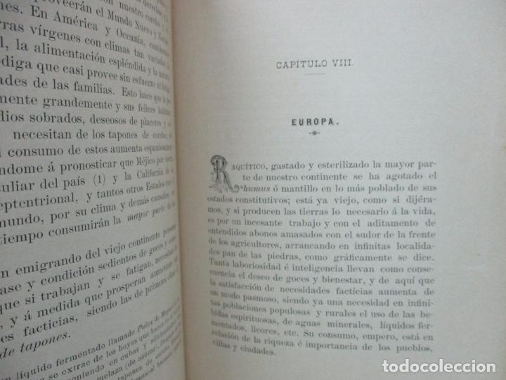 Libros antiguos: MEMORIA SOBRE LA LIGA ADUANERA HISPANO-PORTUGUESA. MARCIAL DE TRINCHERÍA Y DE BOLOS. 1893. - Foto 4 - 105906055