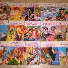 Libros antiguos: MINIBIBLOTECA DE LA LITERATURA UNIVERSAL, 15 LIBROS. Lote 105888895