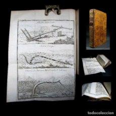 Libros antiguos: AÑO 1778 ESCRITURA JEROGLÍFICA AGRICULTURA EGIPTO GRECIA ARTES GRABADOS DESPLEGABLES EX-LIBRIS. Lote 106026327