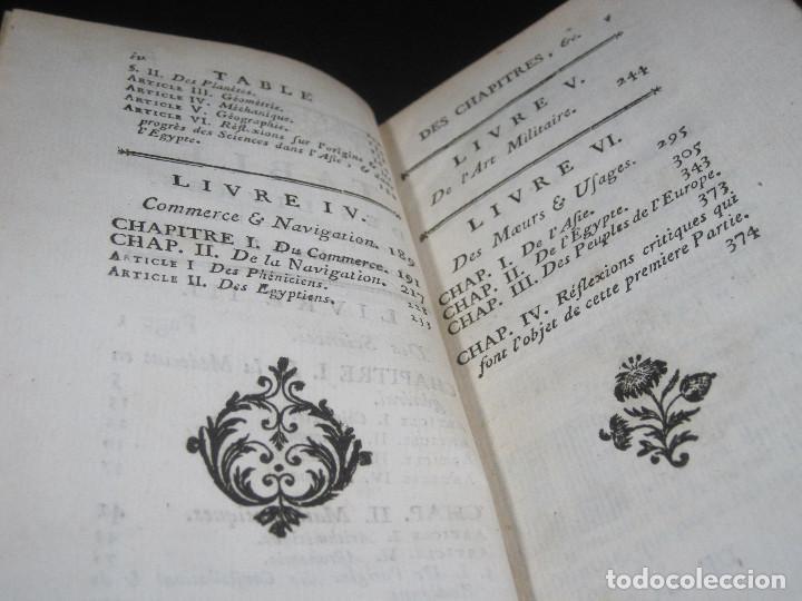 Libros antiguos: Año 1778 Botánica astronomía cirugía y navegación en el Antiguo Egipto Grecia Fenicia artes ciencias - Foto 9 - 106026795