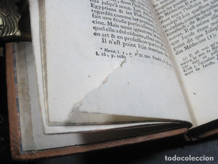 Libros antiguos: Año 1778 Botánica astronomía cirugía y navegación en el Antiguo Egipto Grecia Fenicia artes ciencias - Foto 14 - 106026795