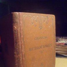 Libros antiguos: CRONICAS MEDIEVALES BARCELONA HENRICH 1913 NARRACIONES RECOPILADAS POR PEDRO UMBERT.... Lote 106028827