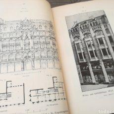 Libros antiguos: CURIOSO MANUAL DE ARQUITECTURA DE GRANDES ALMACENES (1902) - ILUSTRADO CON PLANOS, GRABADOS Y FOTOS. Lote 106068520