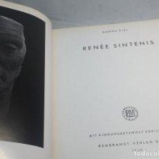 Libros antiguos: RENÉE SINTIENIS BERLÍN 1956 ESCULTURA ILUSTRADO EN ALEMÁN BUEN ESTADO PASTA DURA TELA. Lote 106069171